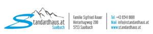 Standardhaus Saalbach